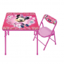 Kids – Disney Minnie Junior Table & Chair Set